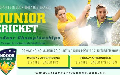 Junior Indoor Cricket Championships